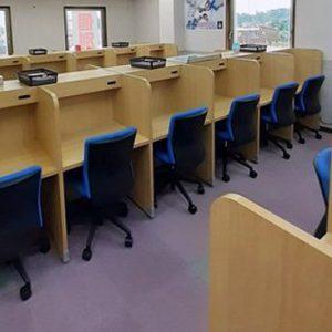 英進個別・e-Rise館林校は自習室を館林市の生徒のために用意しています
